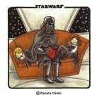 Pack nuevo Darth Vader e hijos