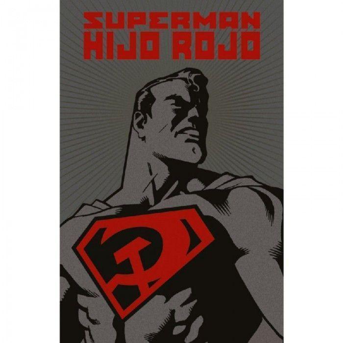 superman hijo rojo deluxe