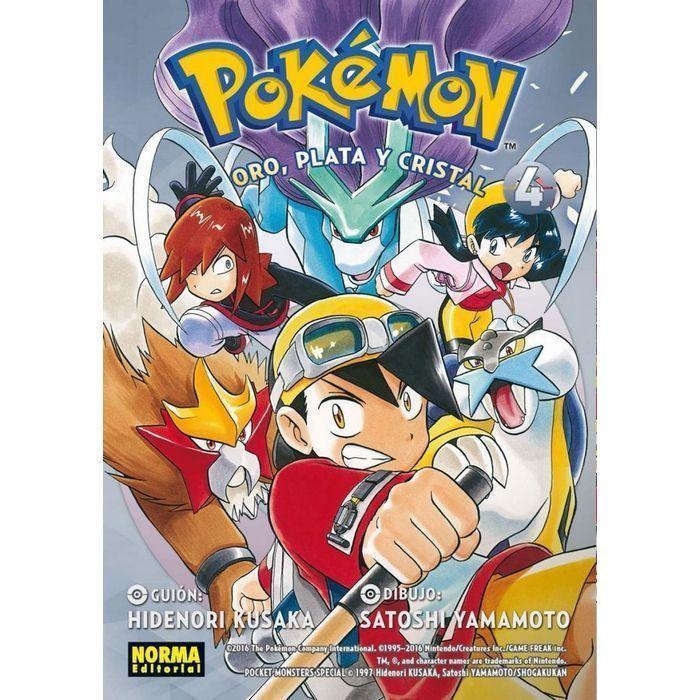 Pokémon 08 Oro, Plata y Cristal 4