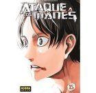 Ataque a los Titanes 15 (Manga)
