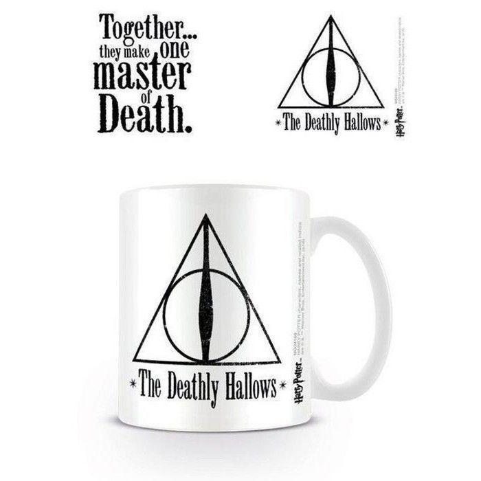 Taza Reliquias Harry potter