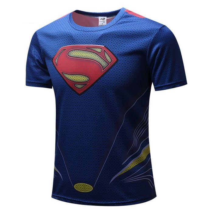 camiseta superman print