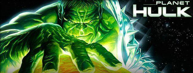 Aterrizamos en el Planeta Hulk