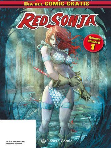 Red Sonja Dia del Comic Gratis