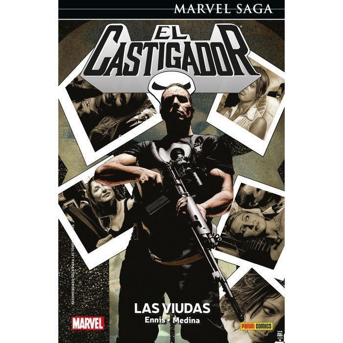 Marvel Saga. El Castigador 10 Las viudas