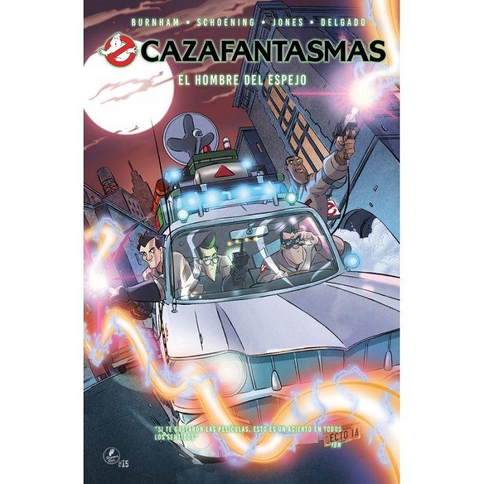 CAZAFANTASMAS Comic 01