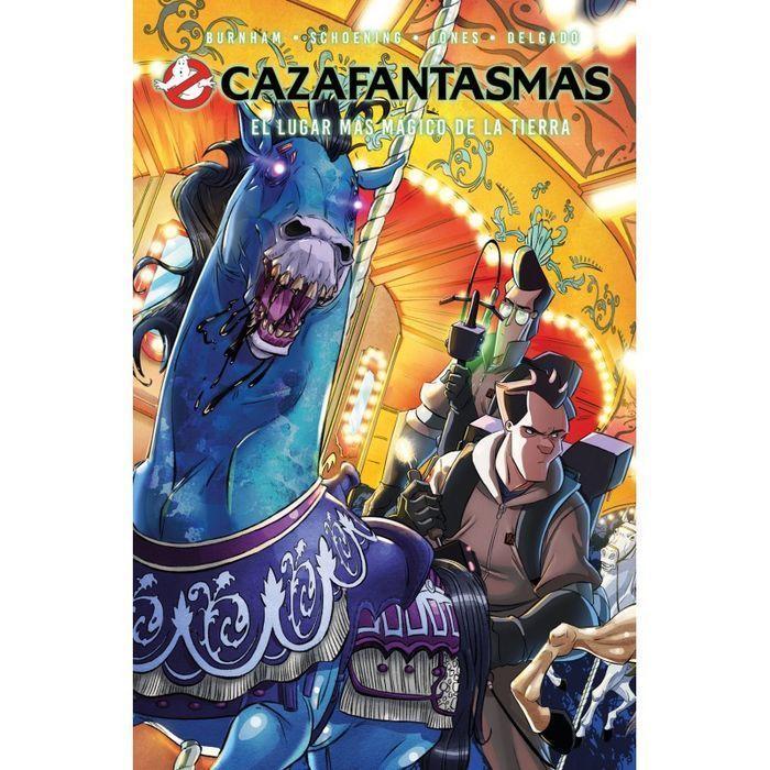 CAZAFANTASMAS Comic 02