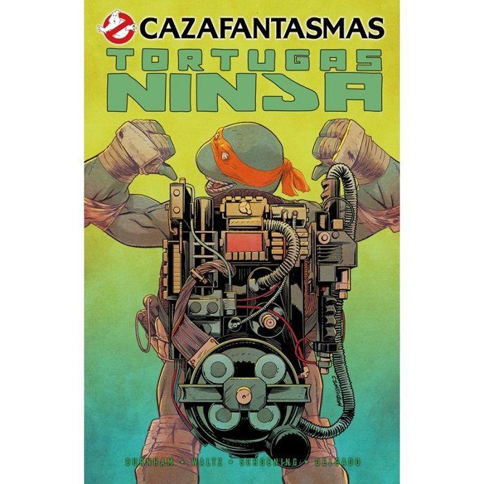 CAZAFANTASMAS/ TORTUGAS NINJA comic