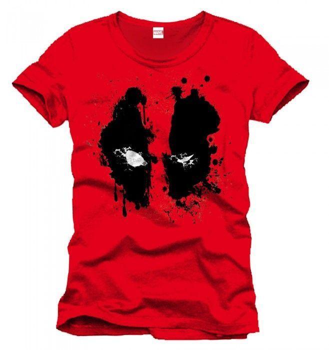 Camiseta Deadpool (Masacre) Roja