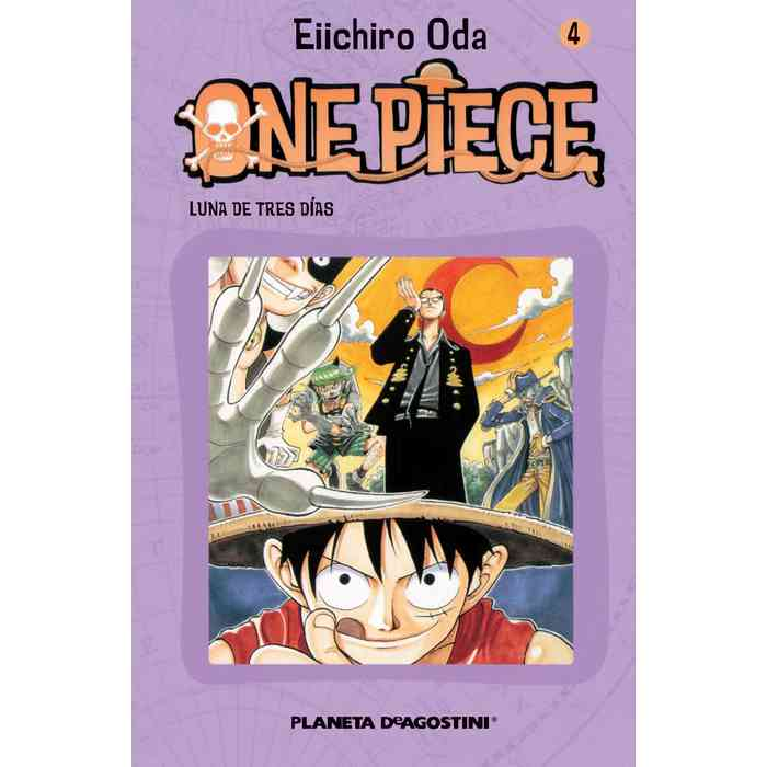 One Piece nº04 (Manga)