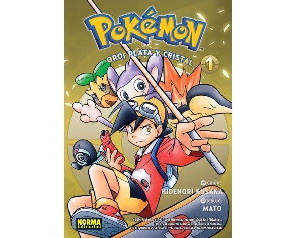 Pokémon 05 Oro, Plata y Cristal 1