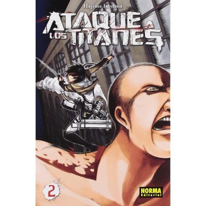 Ataque a los Titanes 02 (Manga)