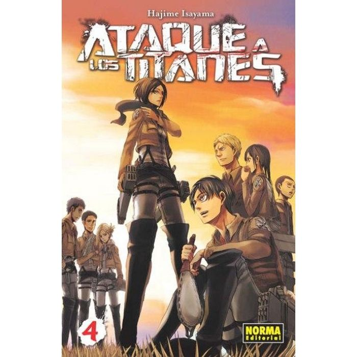 Ataque a los Titanes 09 (Manga)