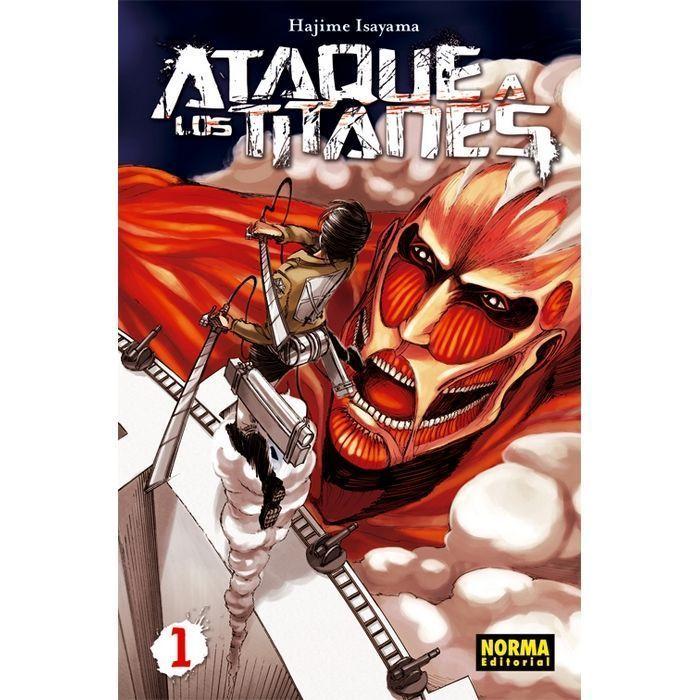 Ataque a los Titanes 01 (Manga)