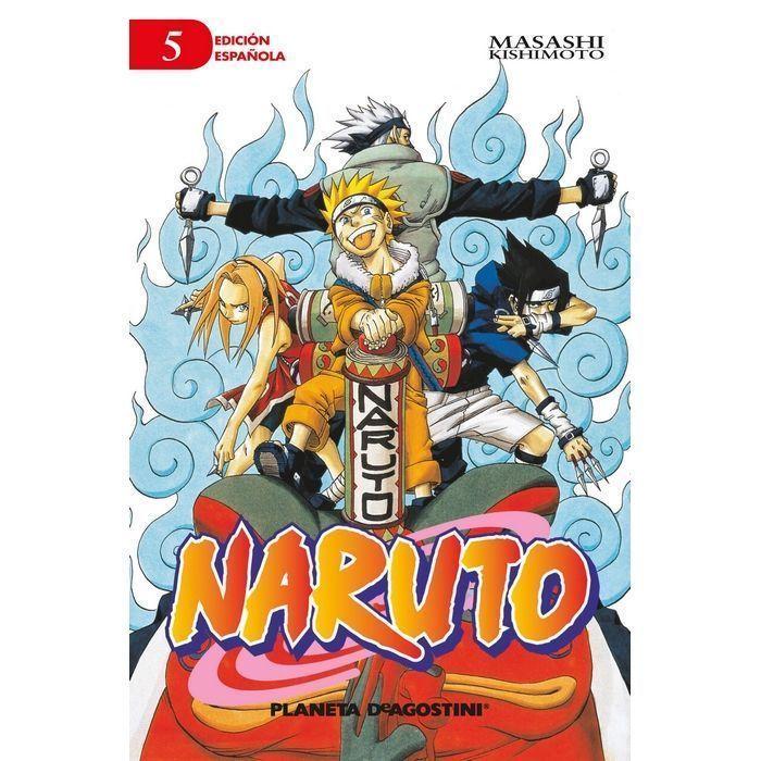 Naruto nº 05 (Manga)