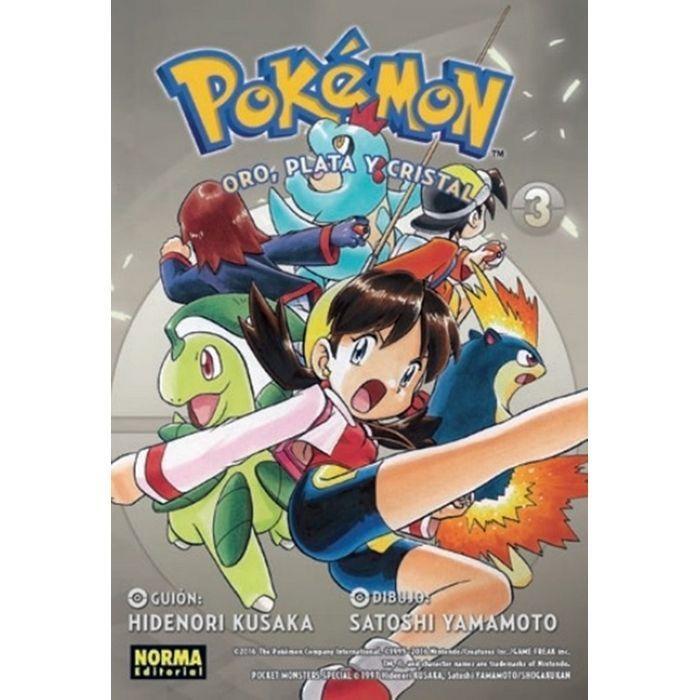 Pokémon 07 Oro, Plata y Cristal 3