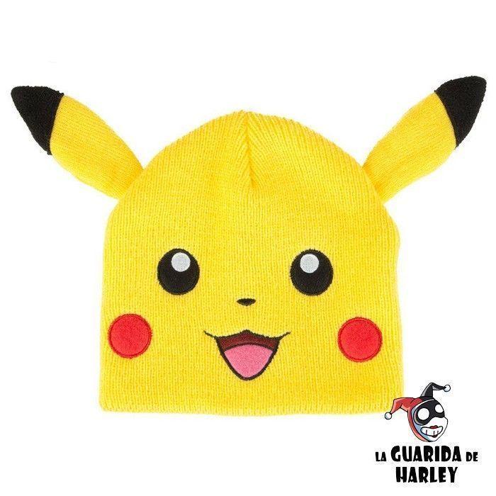 797488010 Gorro Beanie Pikachu Pokémon - La Guarida de Harley