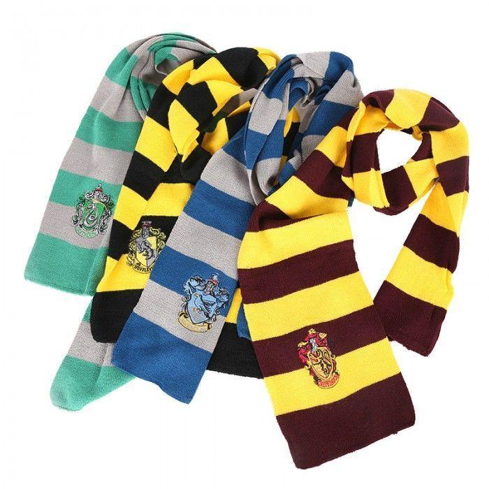 Atractivo Hogwarts Patrón De La Casa De Confección De Bufandas ...