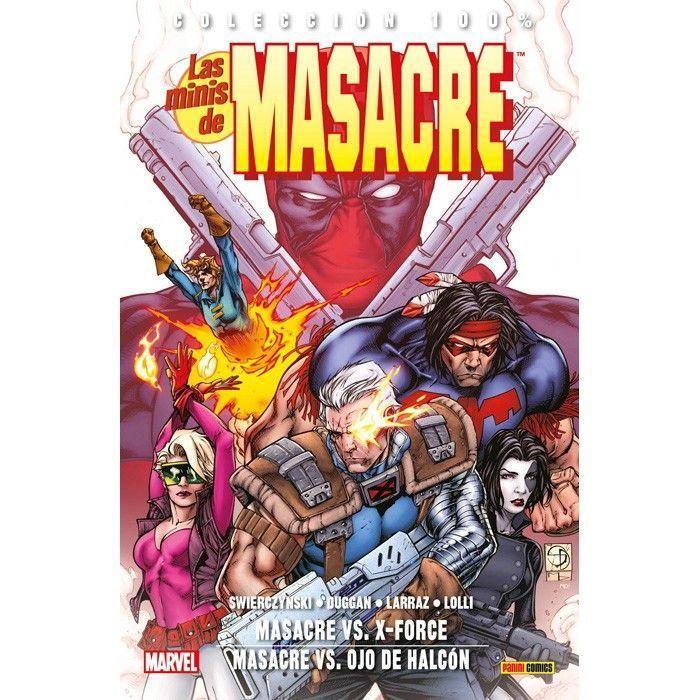 Las Minis de Masacre 05: Masacre Vs. X-Force / Masacre Vs. Ojo de Halcón