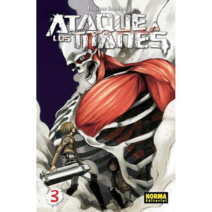 Ataque a los Titanes 03 (Manga)