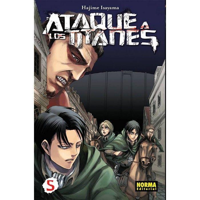 Ataque a los Titanes 05 (Manga)