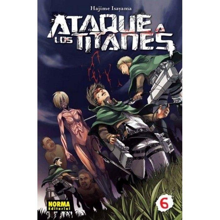 Ataque a los Titanes 06 (Manga)