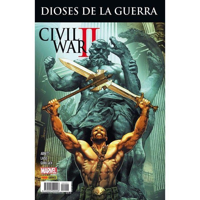 civil war II dioses de la guerra