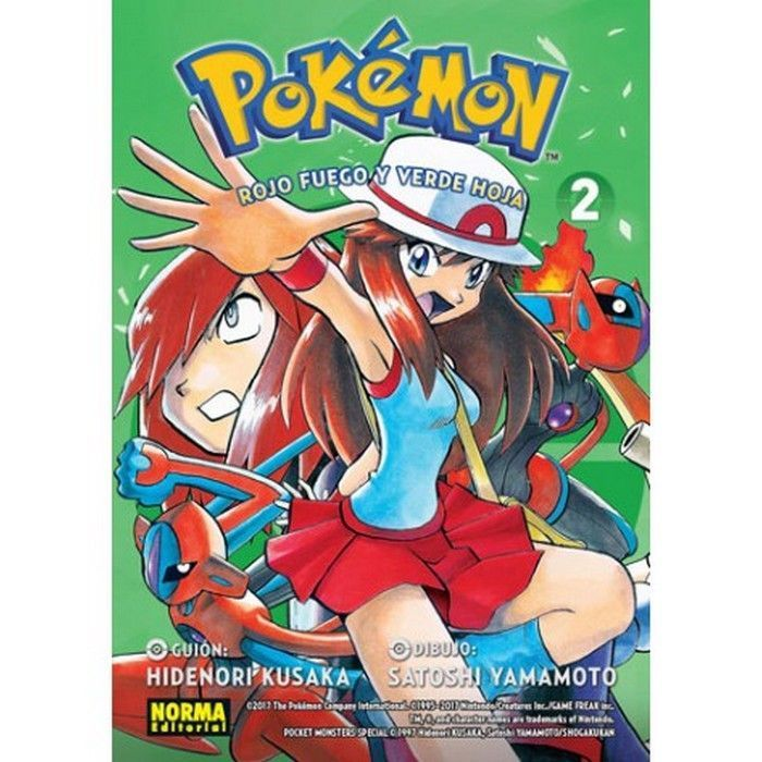 Pokémon 14 Rojo Fuego Verde Hoja 2