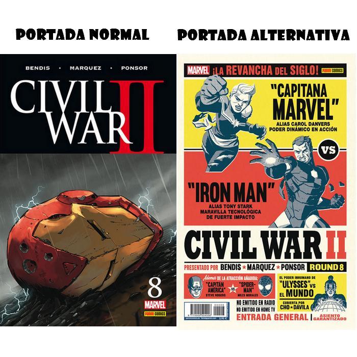 Civil War II 8 (Último)