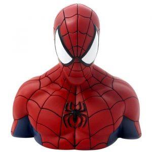 hucha spider man
