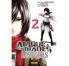 Ataque a los Titanes Lost Girls 2