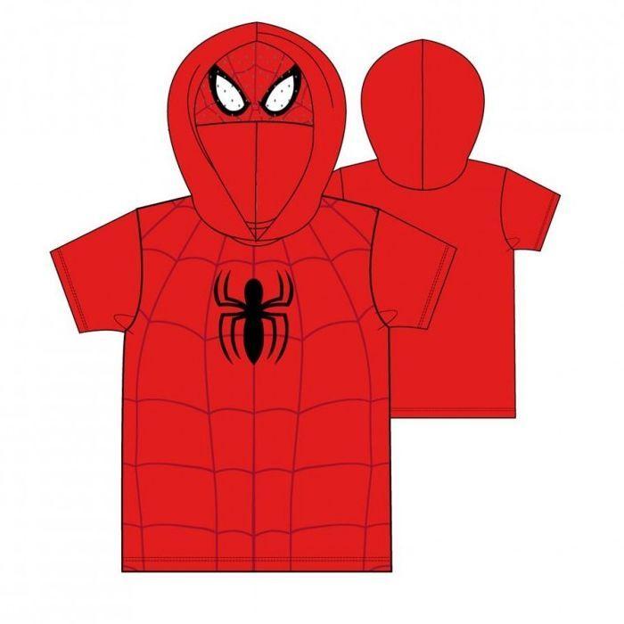 camsieta infantil spiderman