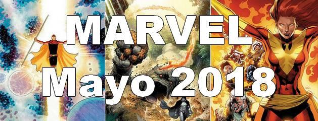 Novedades Marvel de Mayo