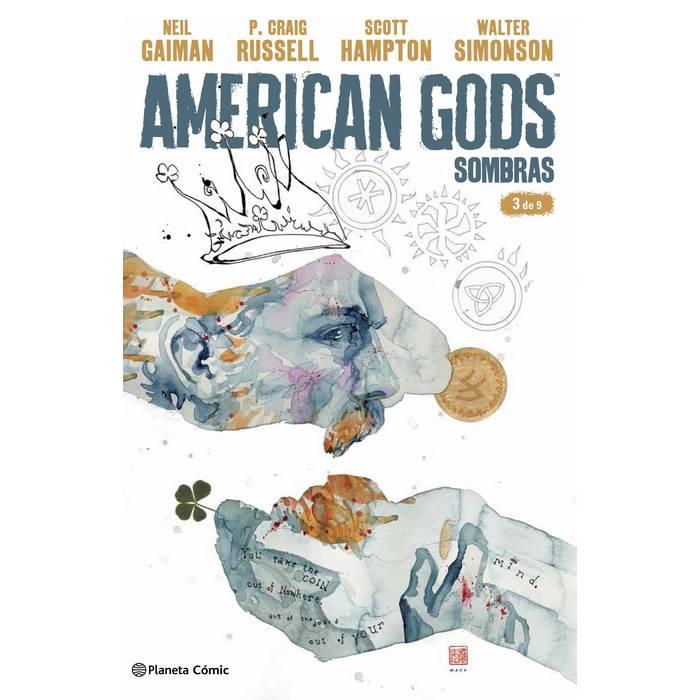 LO QUIERO LO HE LEÍDO  Comparte este libro American Gods Sombras nº 03/09