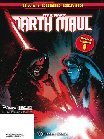 darth maul Dia del Comic Gratis