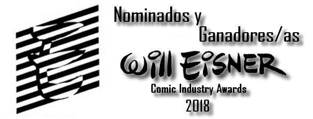Nominados y ganadores Eisner 2018