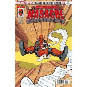 El Despreciable Masacre 27 Marvel Legacy. Cosas que hacer antes de morir Partes 1 y 2
