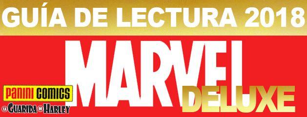 Guía de Lectura Marvel Deluxe 2018