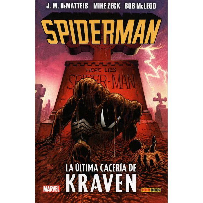 100% Marvel HC. Spiderman: La última cacería de Kraven