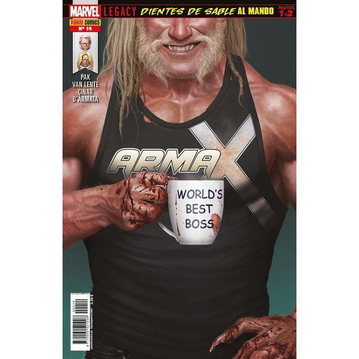 Arma X   14 Marvel Legacy. Dientes de Sable al mando Partes 1 y 2