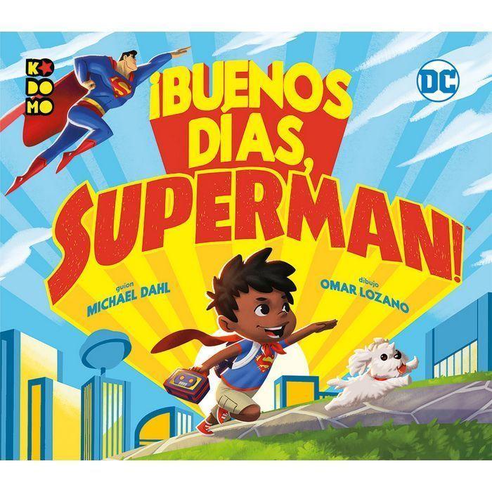 Buenos dias superman infantil kodomo dc