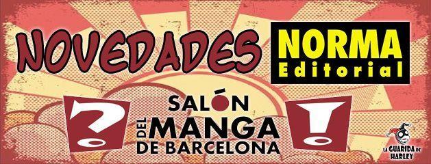 Novedades Norma Salón del Manga de Barcelona