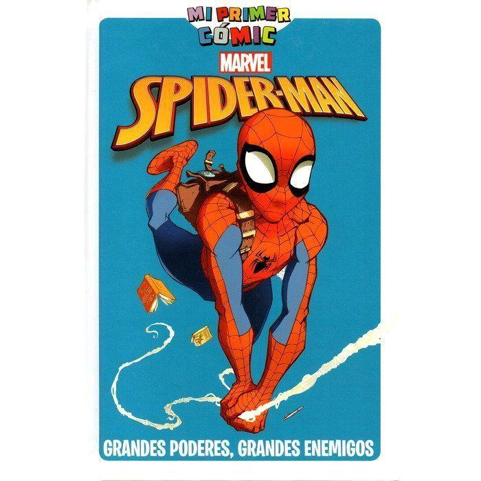 Mi Primer Cómic: Spider-Man Grandes poderes, grandes enemigos INFANTIL / JUVENIL
