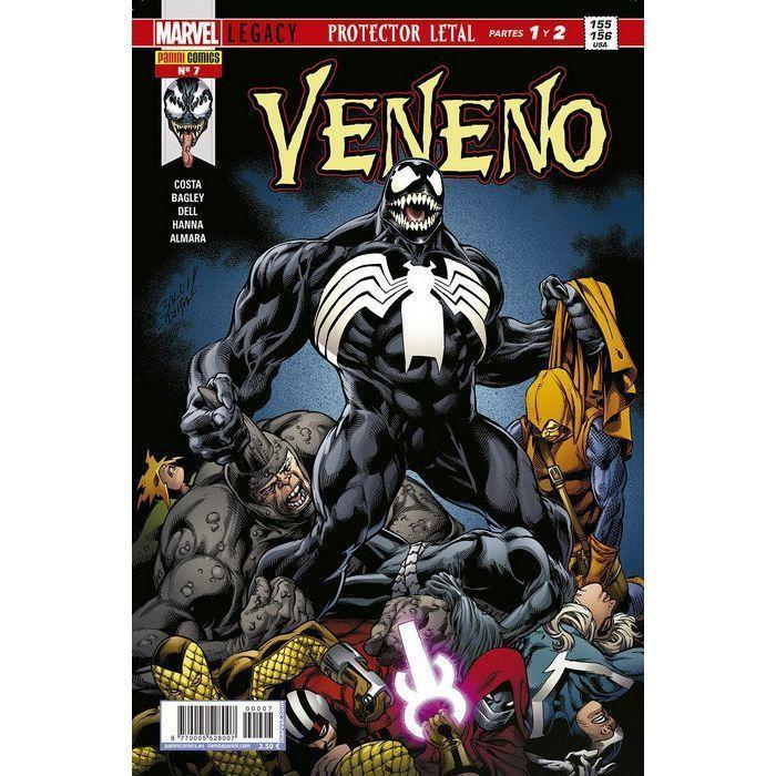 Veneno v2   7 Marvel Legacy. Protector letal Partes 1 y 2