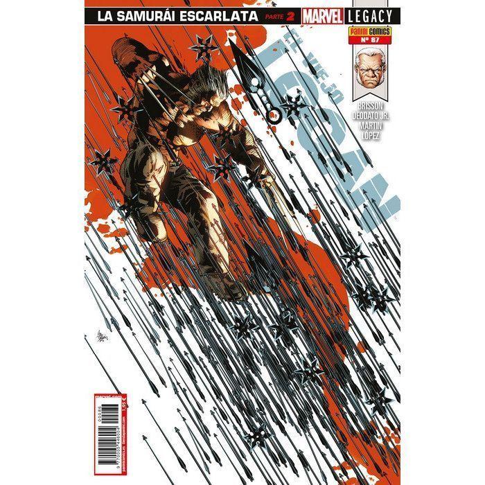 El Viejo Logan   87 Marvel Legacy. La Samurái Escarlata Parte 2