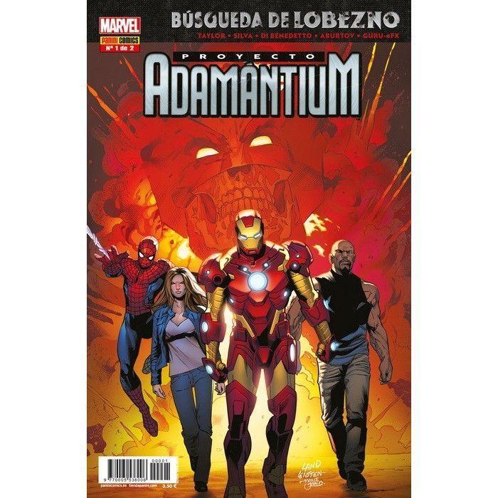 Búsqueda de Lobezno: Proyecto Adamántium 1 X-MEN