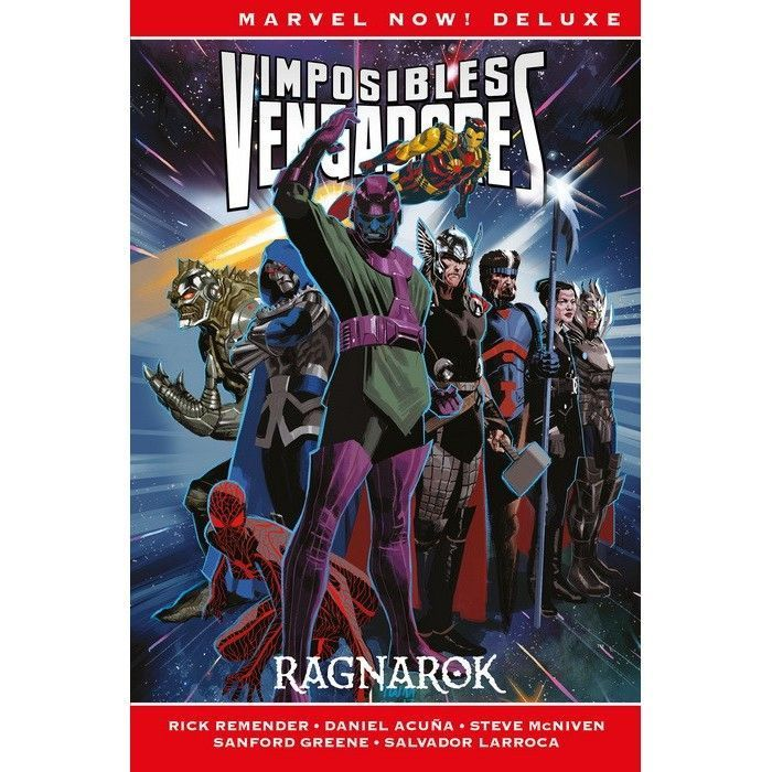 Marvel Now! Deluxe. Imposibles Vengadores 2 Ragnarok