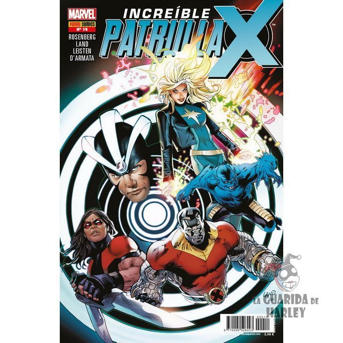 X-MEN INCREÍBLE PATRULLA-X V1 14