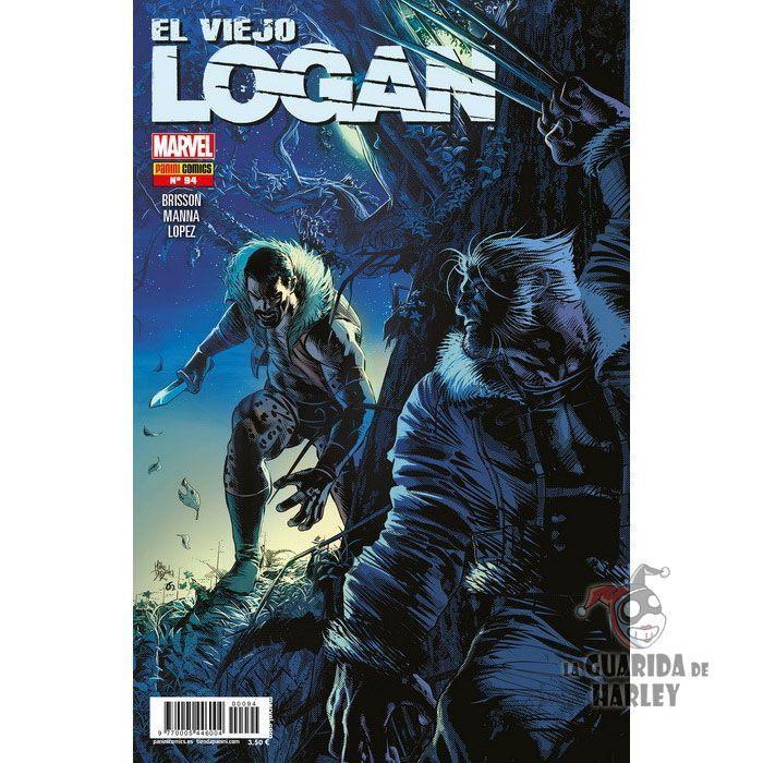 El Viejo Logan 91 Marvel Legacy. Objetivo en Movimiento Parte 2