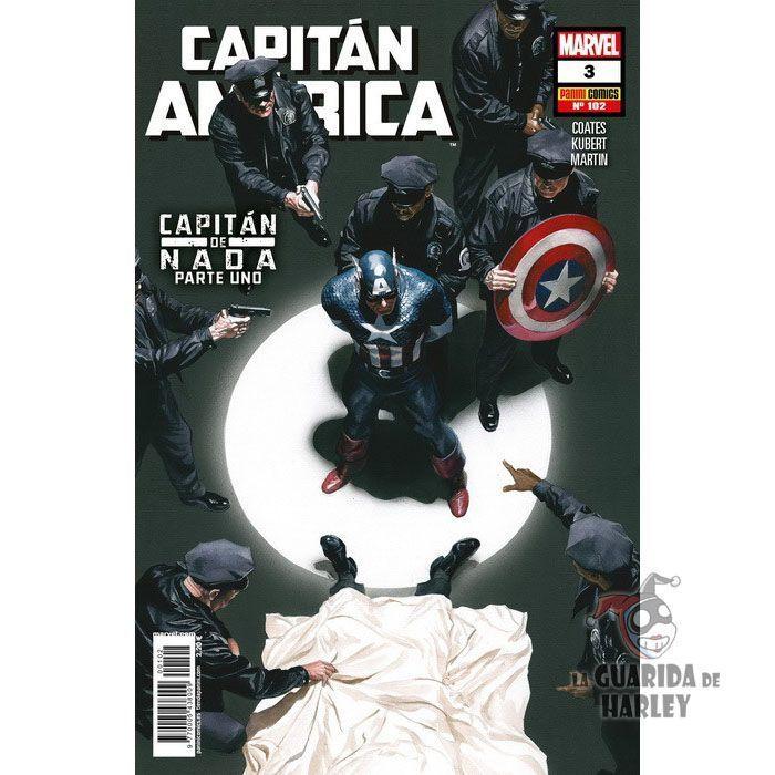 Capitán América   3 Capitán de nada Parte Uno